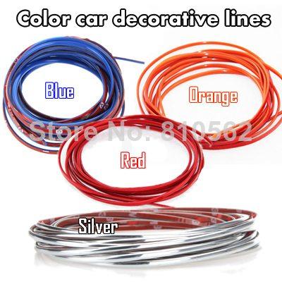 Värviline kleepsuriba auto kaunistamiseks