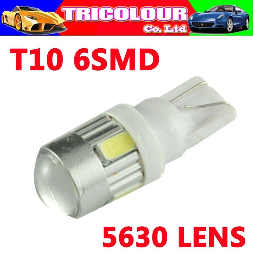 4x T10 LED 5630 6smd led 3W