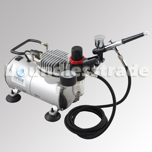 OPHIR filtriga airbrush meigi õhukompressor