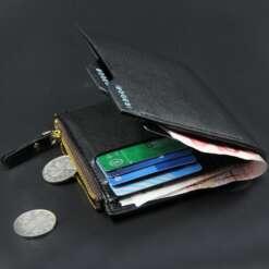 Bogesi kirjaga nahast meeste rahakott