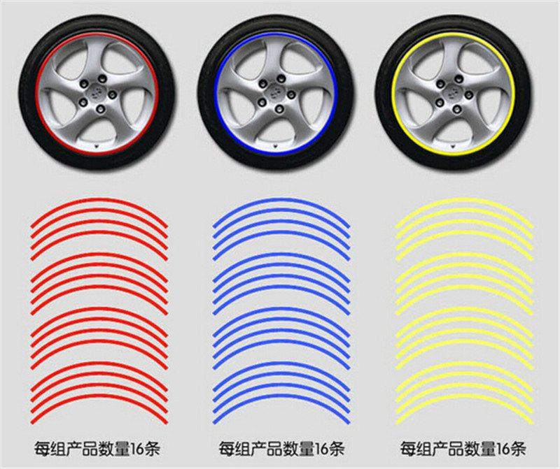 Värvilised Rattakleepsud Autodele