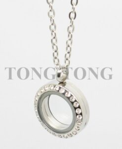 20mm-25mm-30mm-35mm-magnetic-closure-silver-czech-crystals-316L-stainless-steel-floating-memory-locket-pendant-2