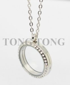 20mm-25mm-30mm-35mm-magnetic-closure-silver-czech-crystals-316L-stainless-steel-floating-memory-locket-pendant-4