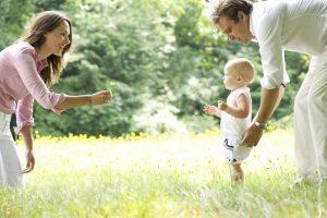Kuidas õpetada last kõndima?