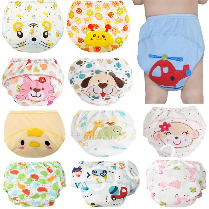 Korduvkasutatavad pestavad vahvate piltidega püksmähkmed beebidele