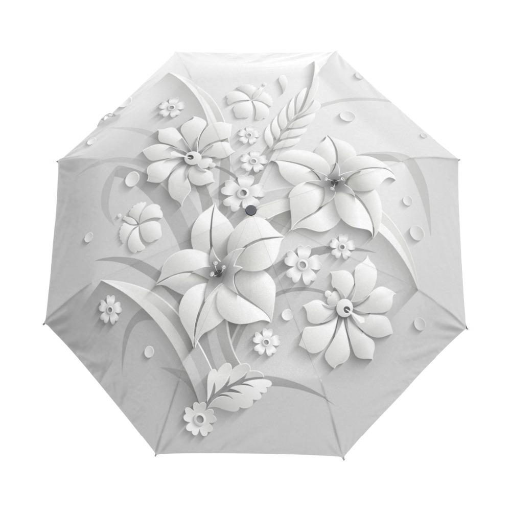 3D pitsilise mustriga vihmavarjud