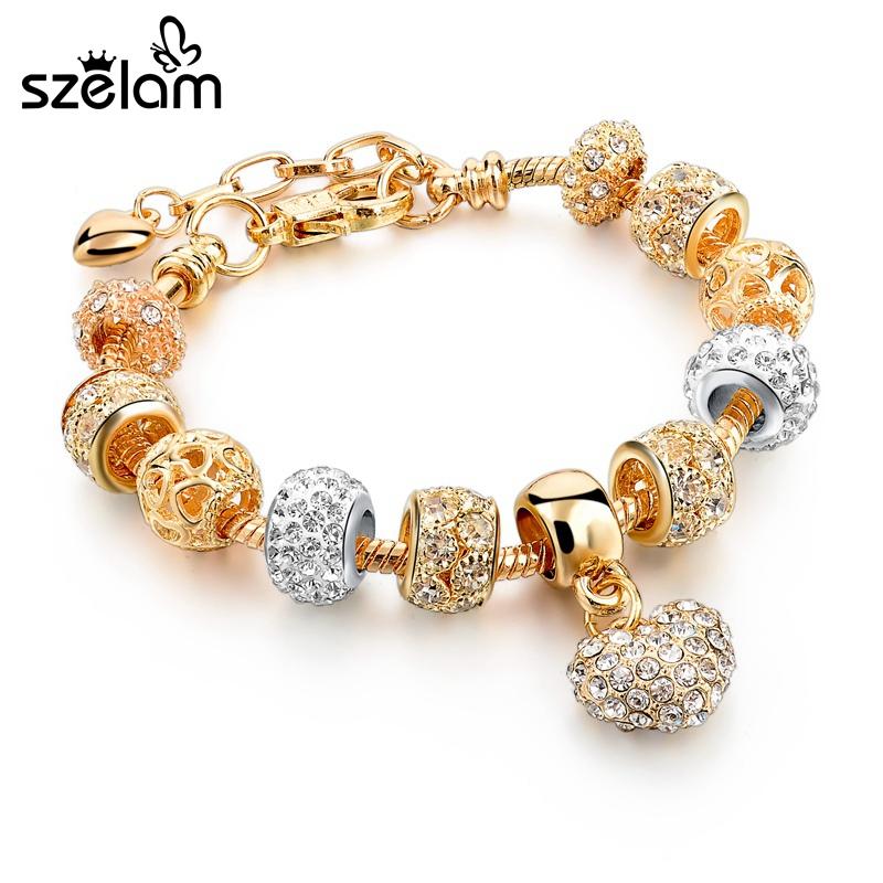 Luksuslik kristallide ja talismaniga käekett