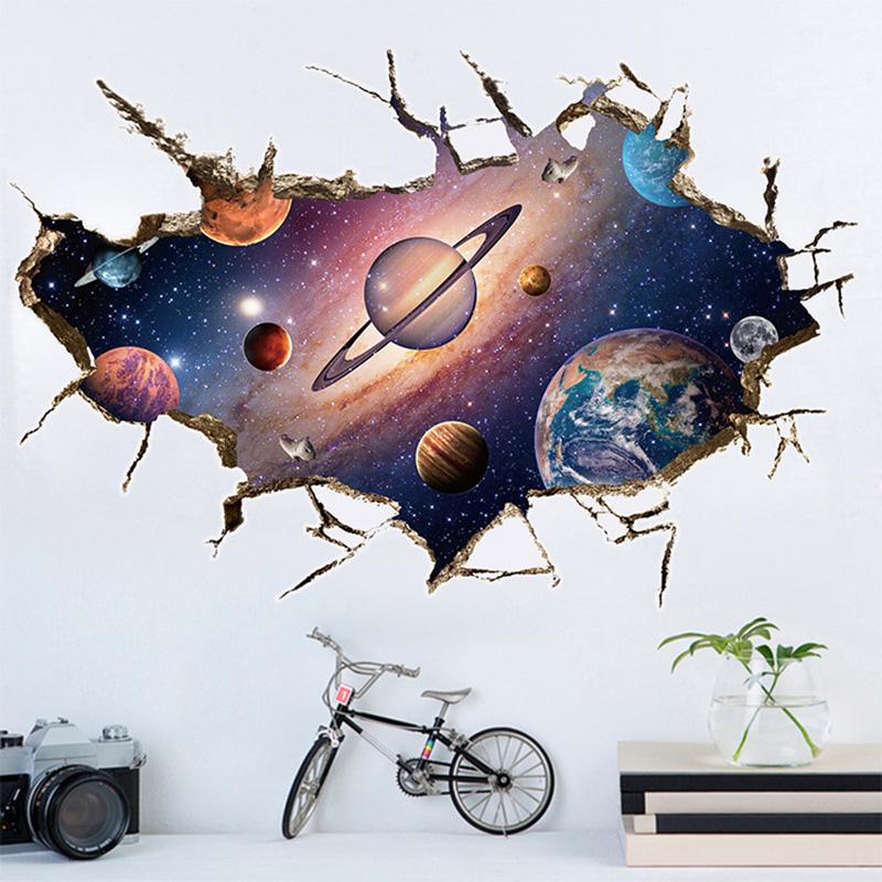 3D seinakleeps planeetidega