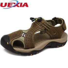 Mugavad mustad ja valged sandaalid