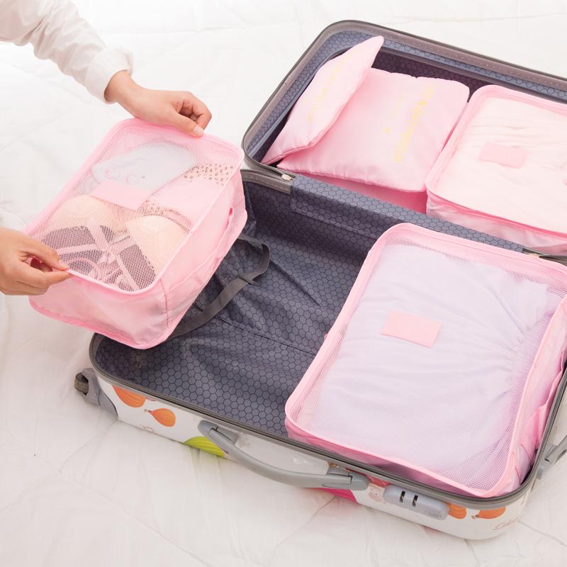 6tk reisikohvri organisaatorite komplekt