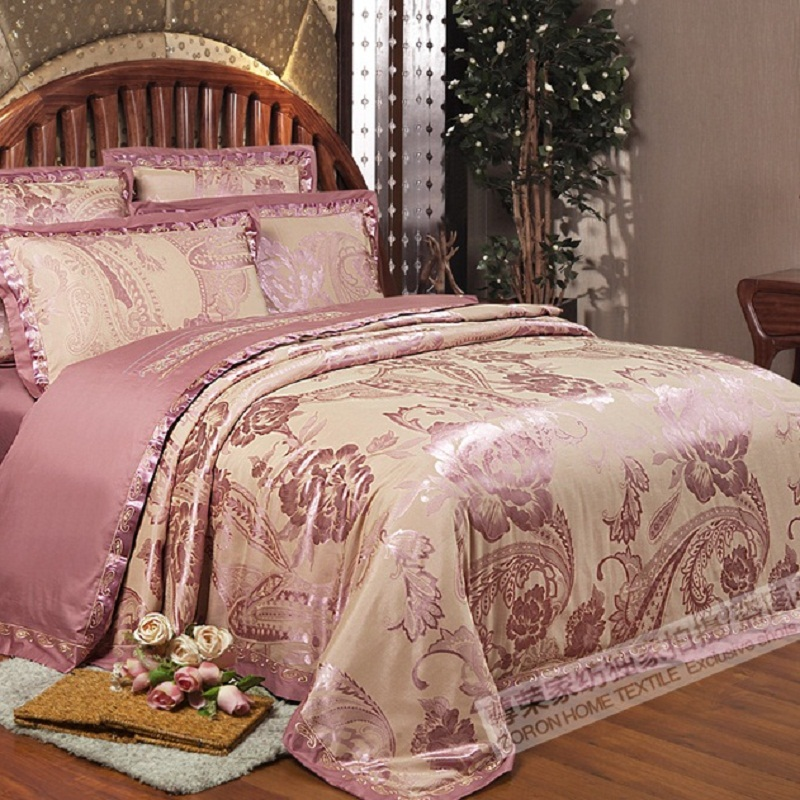 Puuvillane luksuslik 4-osaline voodipesukomplekt
