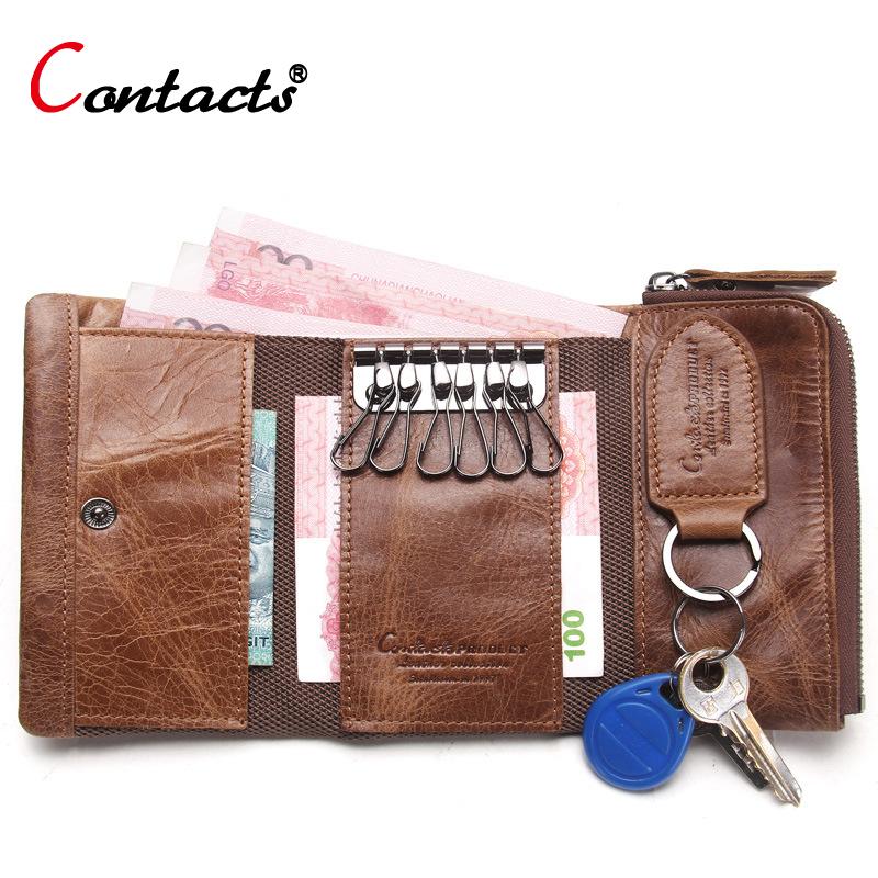 Nahast raha ja võtmete kott