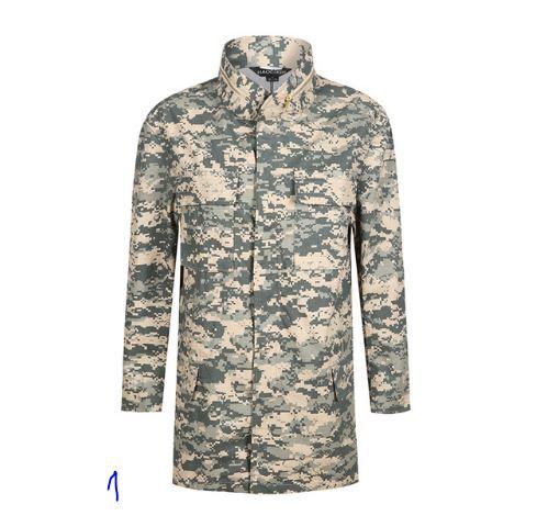Õhukesed jakid sõjaväemustriga