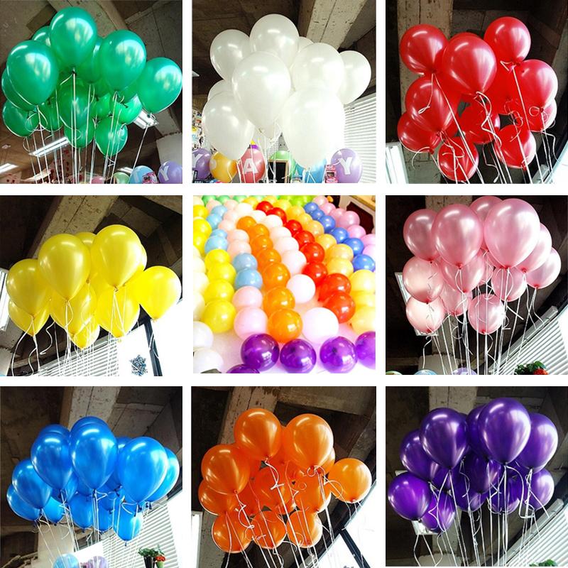 Rõõmsates värvides õhupallid
