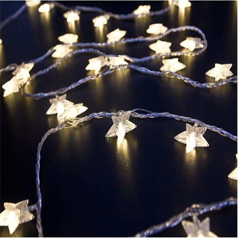 Tähtedega jõulutulukesed – 4 meetrit