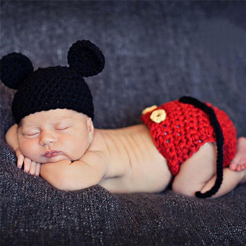 Miki Hiire müts ja püksid beebile