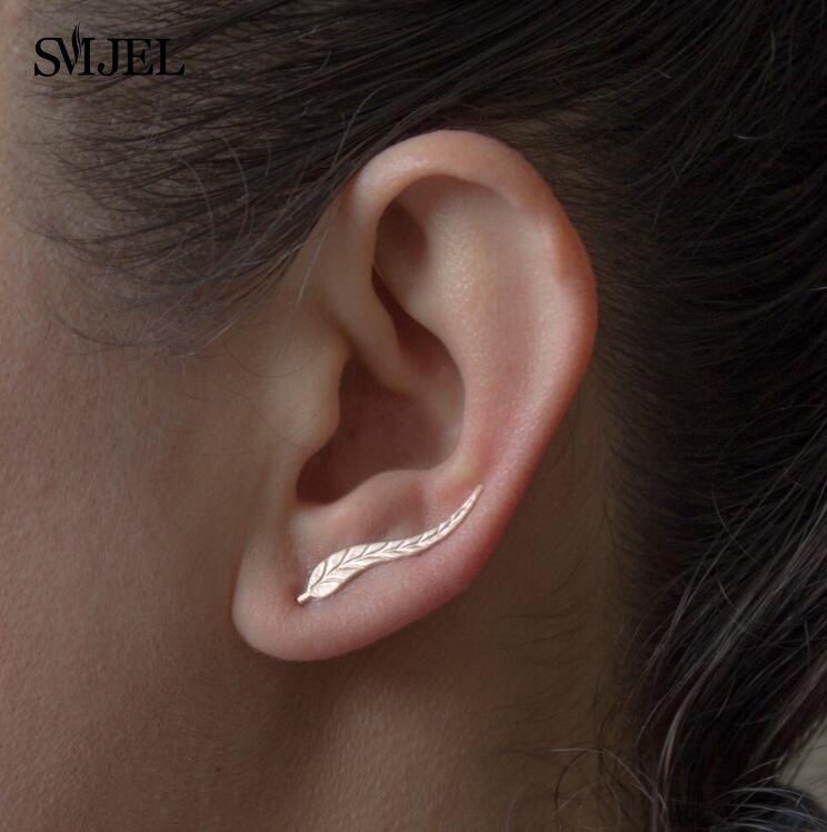 Väikesed sulekujulised kõrvarõngad