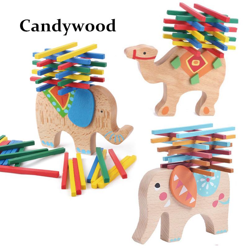 Elevandi või kaameliga arendav mänguasi