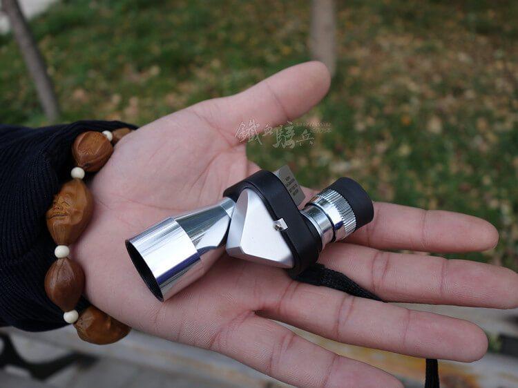Väike teleskoop jahipüssi külge