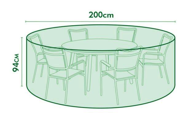 Vihmakate aiatoolidele ja lauale
