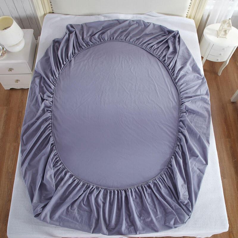puuvillast kummiga voodilinad. Black Bedroom Furniture Sets. Home Design Ideas