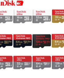SanDisk Micro SD mälukaart – 16GB
