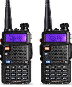 Kaks võimast raadiosaatjat