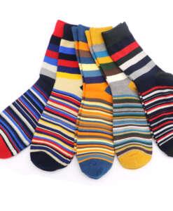 Värvilised triibulised sokid