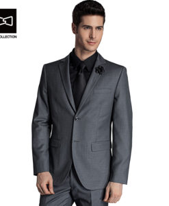 Must, sinine või hall ülikond