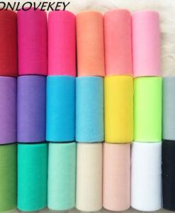 Tülliribad – suur värvivalik
