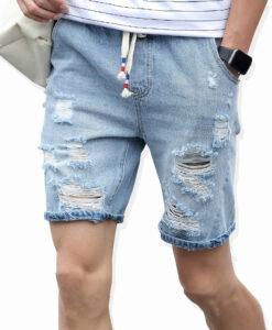 Nööritavad lühikesed teksased