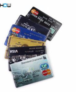 Pangakaardi kujundusega mälukaardid