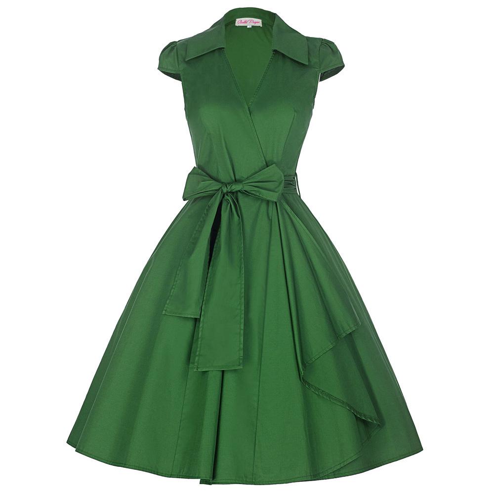 7bbfa5be7d8 Vintage stiilis seotava vööga kleidid