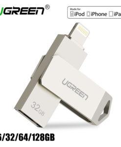 Valge keeratav mälupulk – 16 GB