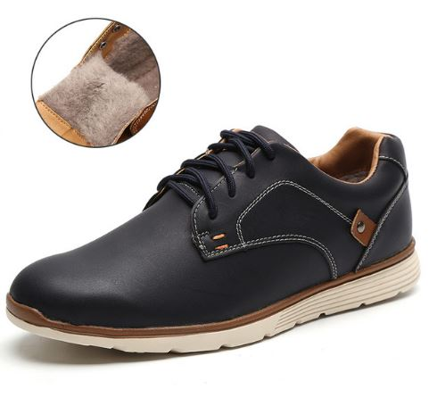 Sportlikud kingad musta või pruuni värvi