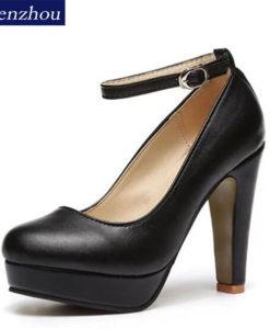 Beežid, mustad või roosad kõrge kontsaga kingad