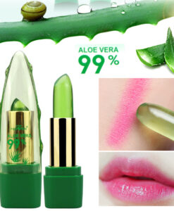 Aloe veraga temperatuuri mõjul värvi muutev huulepulk