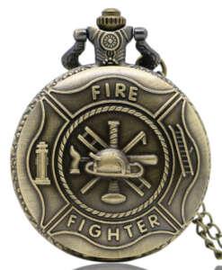 """Taskukell kirjaga """"Fire fighter"""""""