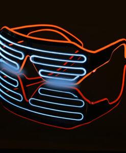 Kahevärvilised LED prillid