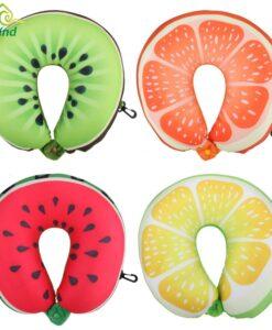 U-kujulised puuviljadega padjad