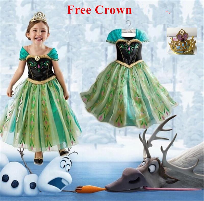 7e18eee991c Printsess Anna kleit tüdrukutele