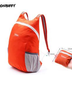 Mugavalt kokkupakitav seljakott