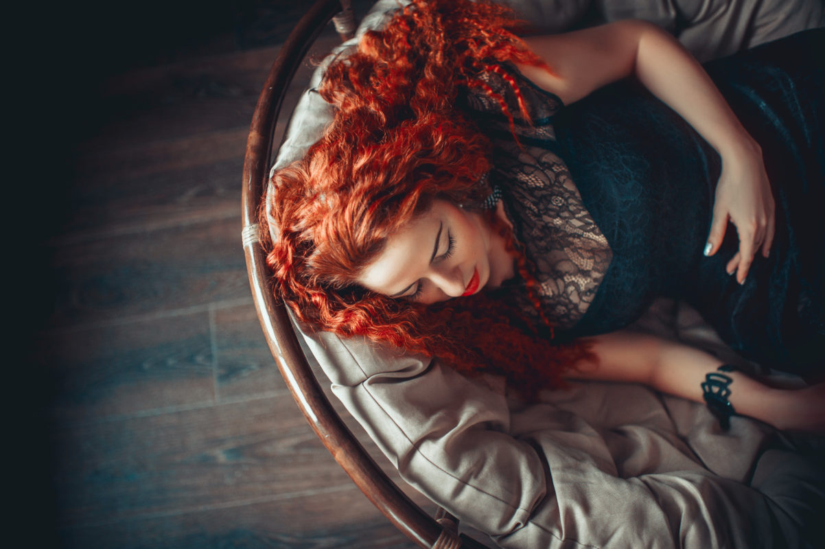 Kuidas hoida punast juuksevärvi tuhmumast?
