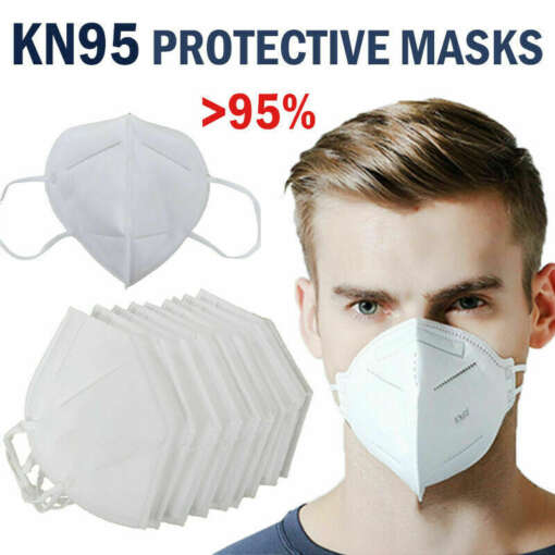 10Pcs KN95 Face Mask Anti Dust Bacterial N95 Mask 4 Layer PM2 5 Dustproof Protective 95