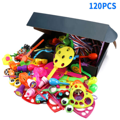 120 Pcs Carnival Prizes Festive Party Supplies Pinata Fillers Assorted Gift Toys Goodie Bags for children 2