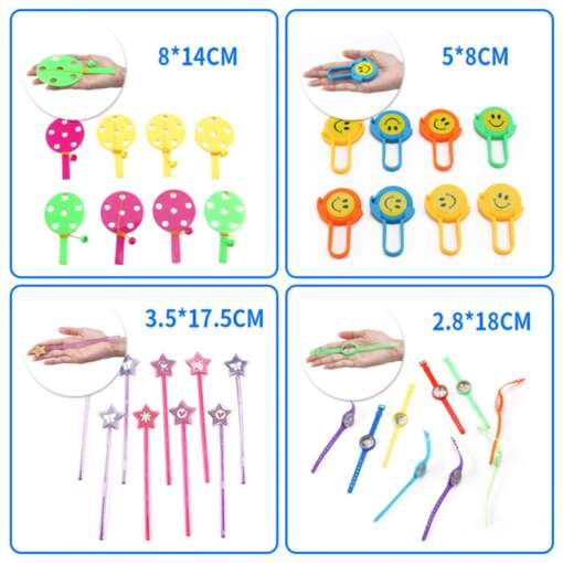 120 Pcs Carnival Prizes Festive Party Supplies Pinata Fillers Assorted Gift Toys Goodie Bags for children 4