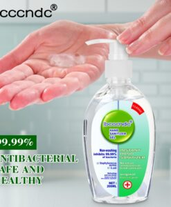 200ml Antibacterial Disposable Hand Sanitizer Hand Disinfection Gel Quick Dry Handgel 75 Ethanol for Kids Adults