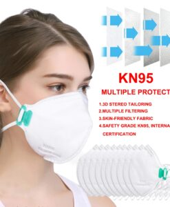 Disposable Breathable Mask Dust Proof Anti Fog FFP3 FFP2 FFP1 PM2 5 N95 KN95 Protect Adult