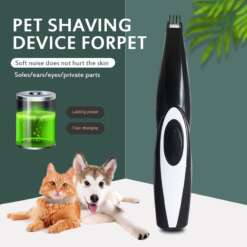 Electric Pet Hair Trimmer USB Charging Dog Hair Clipper Rechargeable Dog Cat Hair Grooming Remover Cutter Paws Trimming Machine