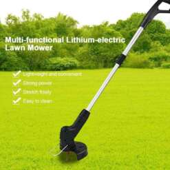 Handheld Lawn Mower Cropper Field Machine Grass Trimmer Garden Tool Outdoor Cordless Steel Electric Brush Cutter Garden Supplies